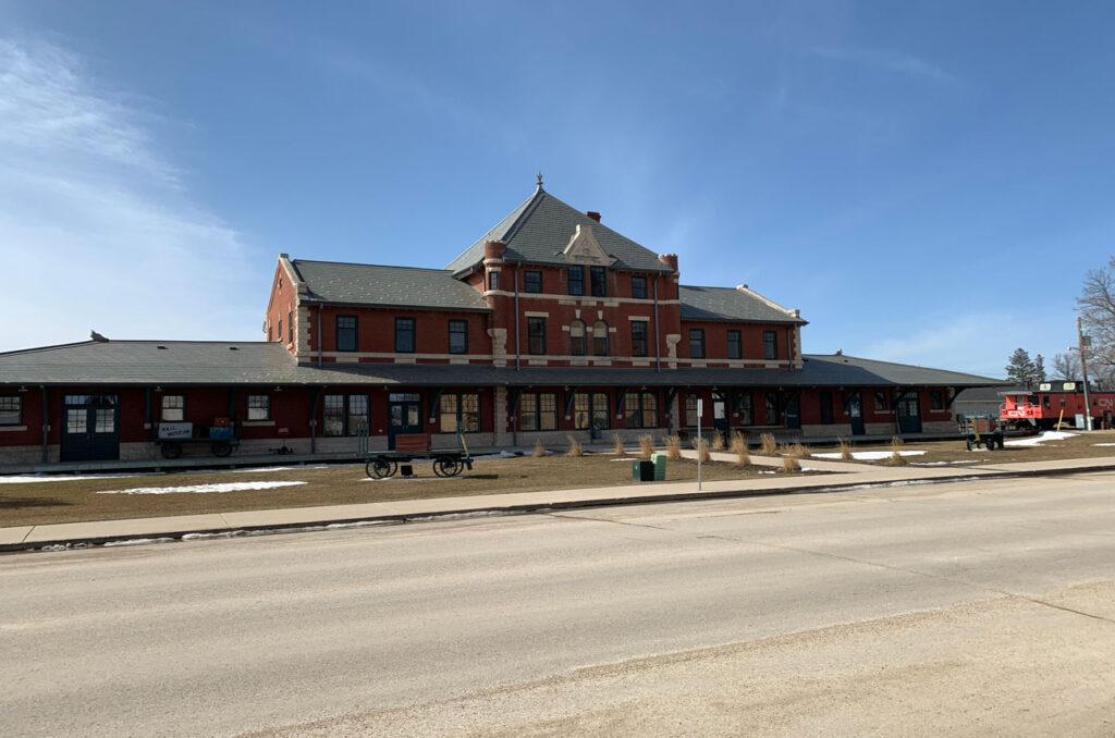 Historic of CNR Station Dauphin Manitoba