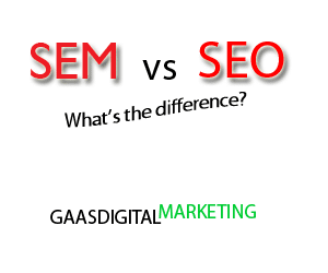 image of text for an introduction into the article (explanation of SEM and SEO)